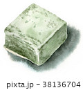 和菓子 お菓子 スイーツのイラスト 38136704