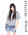 若い女性 ファッション ポートレート 38137419