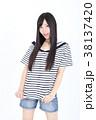 若い女性 ファッション ポートレート 38137420