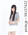 若い女性 ファッション ポートレート 38137422