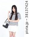 若い女性 ファッション ポートレート 38137424