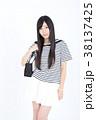 若い女性 ファッション ポートレート 38137425