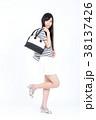 若い女性 ファッション ポートレート 38137426