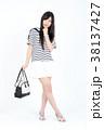 若い女性 ファッション ポートレート 38137427