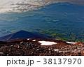 富士山・御殿場登山道から見る宝永山と愛鷹山 38137970