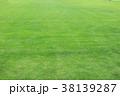 背景_新緑の芝_スポーツ広場 38139287