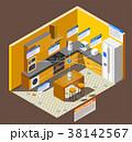 インターネット 成分 冷蔵庫のイラスト 38142567