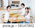 若い家族(食卓) 38147802