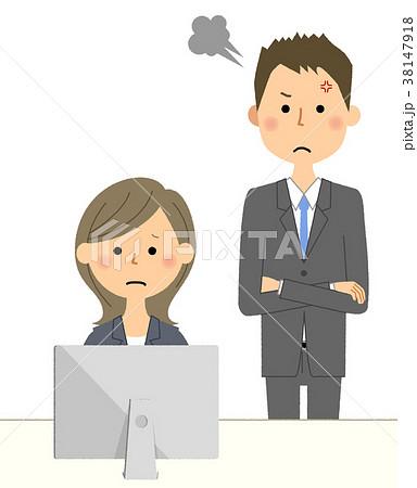 ビジネスシーン 上司と部下 38147918