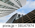 オフィスビル オフィス街 高層ビルの写真 38147974