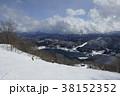 鹿島槍スキー場コース10から望む青木湖 38152352