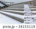 雪の公園 38153119