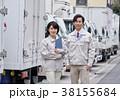 男性 運送業者 女性の写真 38155684