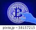 ビットコイン コイン 仮想通貨のイラスト 38157215