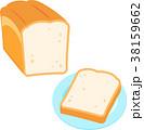 パン 食パン 主食のイラスト 38159662