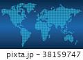 世界地図 38159747