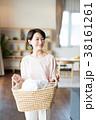 洗濯 洗濯物 女性の写真 38161261