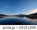 富士山 河口湖 冬の写真 38161896