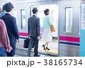 電車 人物 通勤の写真 38165734
