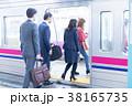 電車 人物 通勤の写真 38165735