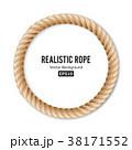 ロープ 綱 ひものイラスト 38171552