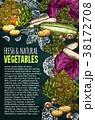 野菜 天然 自然のイラスト 38172708