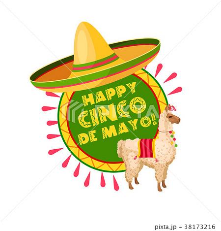 Cinco de Mayo mexican party sombrero greeting card 38173216