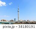 桜 春 東京スカイツリーの写真 38180191