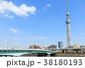 桜 春 東京スカイツリーの写真 38180193