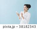 スマートフォン 女性 スマホの写真 38182343