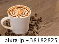 コーヒー カップ バックグラウンドの写真 38182825