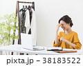 働く女性(アパレル) 38183522