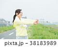スポーツウェアを着た女性 38183989
