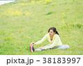 スポーツウェアを着た女性 38183997
