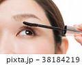 メイクアップ 化粧 女性の写真 38184219