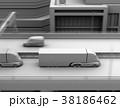 トラック 高速道路 自動運転のイラスト 38186462