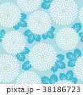 模様 花 植物のイラスト 38186723