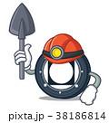 鉱山労働者 コイン 通貨のイラスト 38186814