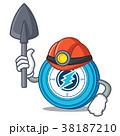 鉱山労働者 コイン 通貨のイラスト 38187210