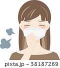咳き込む女の子1 38187269