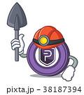 鉱山労働者 コイン 通貨のイラスト 38187394