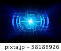 技術 アブストラクト 抽象のイラスト 38188926
