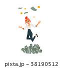 お金 通貨 金のイラスト 38190512