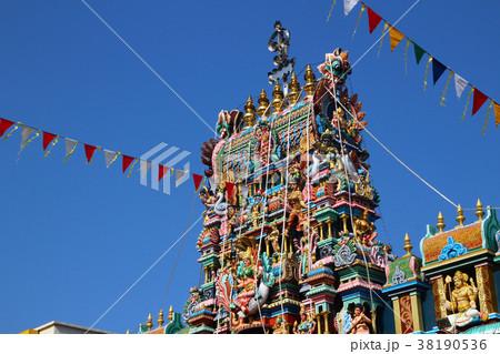 ペナン島 リトルインディア インド寺院 38190536