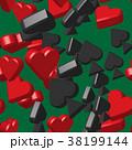 ハート ハートマーク 心臓のイラスト 38199144