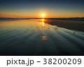 海 日没 海岸の写真 38200209