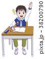 勉強 小学生 男の子のイラスト 38200790