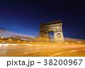 エトワール凱旋門 パリ シャンゼリゼ通りの写真 38200967