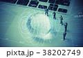 グローバルビジネス 人形 ネットワークの写真 38202749