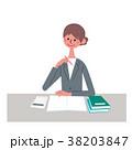 ビジネスウーマン ビジネス 仕事のイラスト 38203847
